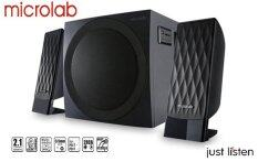 ความคิดเห็น Microlab M300U I Smart Speaker 2 1 Black ลำโพง 2 1 แชลแนล รับประกันศูนย์