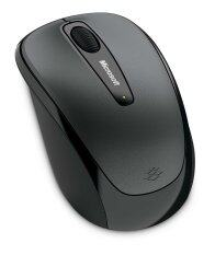 Microsoft Wireless Mobile Mouse 3500 (BLACK/GRAY) - สีเทาดำ