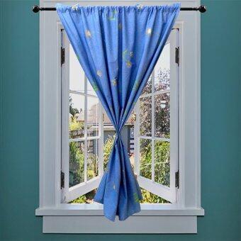 Midori ผ้าม่านหน้าต่าง Blue Sky 110x140 cm.1ชิ้น