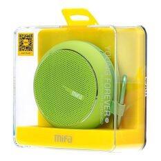 ขาย ซื้อ ออนไลน์ Mifa Bluetooth Speaker ลำโพงบลูทูธ แบบพาพา รุ่น F1 Green