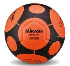 ซื้อ Mikasa ฟุตซอล เบอร์ 3 5 รุ่น Fll400 สีส้ม ดำ ถูก