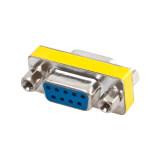 ขาย Mini Db9 Rs232 9 Pin Female To Female Gender Changer Plug Adapter ถูก