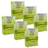 ราคา ราคาถูกที่สุด Miracle 5D Aura Gluta Soap สบู่ระเบิดสิว ฝ้า ออร่าใน 5 วัน ขนาด 80 กรัม X 6 ก้อน