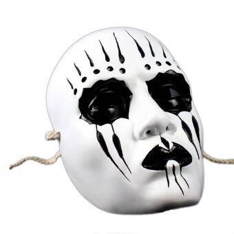 Mirage-Shop หน้ากาก วงดนตรีเมทัล Slipknot Joey - สีขาว/แดง