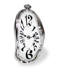 โปรโมชั่น Mirage Shop นาฬิกาละลายแบบตั้งโต๊ะ Silver ใน Thailand