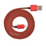 ราคา Mitz Mfi Lightning Cable For Iphone Ipad Ipod สาย ไอโฟน 1 เมตร สีแดง ที่สุด