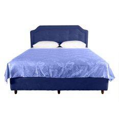 ราคา Mlmp ผ้าแพร ทอลาย ผ้าคลุมเตียง ขนาด 60 X 80 นิ้ว 5ฟุต Mmo 038 ใหม่ ถูก