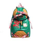 ซื้อ Mm กระเป๋าเป้สะพายหลังสไตล์ยุโรป สีเขียว Mm0030 ถูก