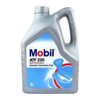 MOBIL น้ำมันเกียร์ออโต้ ATF-220 5 ลิตร
