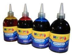 ราคา Modify Ink หมึกเติมTank สำหรับเครื่อง Brother ทุกรุ่น ขนาด 300X4Ml Black Cyan Maganta Yellow Brother ไทย