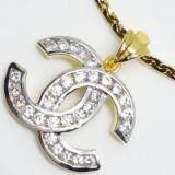 ซื้อ Mono Jewelry สร้อยคอพร้อมทองจี้ลายไขว้ เงิน 925 หุ้มทองคำแท้ 24K รุ่น จี้ลายไขว้ M019T ถูก