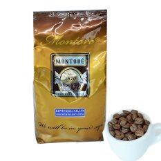 ราคา Montore กาแฟ มอนโตเร่ ชนิดผง ชนิดบด รส เอสเพรสโซ่ อิตาเลียน บรรจุ 500 กรัม ใหม่ ถูก