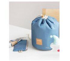 ราคา Mori กระเป๋าจัดระเบียบเครื่องสำอาง กระเป๋าจัดเก็บอุปกรณ์แต่งหน้า กระเป๋าอเนกประสงค์ กระเป๋าจัดระเบียบอุปกรณ์อาบน้ำ ทรงกระบอก Cosmetic Bag Multi Functional Bag Bag Organizer Deep Blue สีฟ้าเข้ม Unbranded Generic กรุงเทพมหานคร