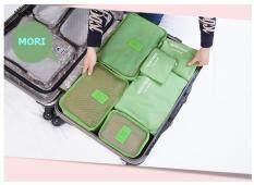 ขาย Mori กระเป๋าจัดระเบียบเสื้อผ้าสำหรับเดินทาง เซ็ท 6 ใบ Bag Organizer Set 6 Pcs Olive Green สีเขียวขี้ม้า กรุงเทพมหานคร ถูก