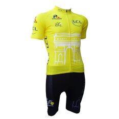 Morning ชุดปั่นจักรยานผู้ชาย รุ่น CLC (สีเหลือง)