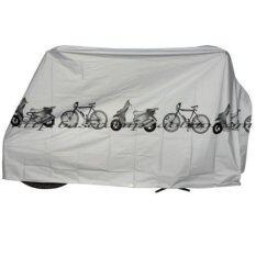 Morning ผ้าคลุมจักรยาน Bike Rain Dust Cover (gray) By Morning.