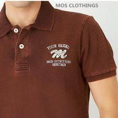 ขาย Mos Heritage Polo T Shirt เสื้อโปโลชาย รุ่น Mmb 0137A น้ำตาล กรุงเทพมหานคร