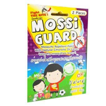 MOSSI GUARD แผ่นแปะป้องกันยุงผสมสารธรรมชาติ (10ซอง)