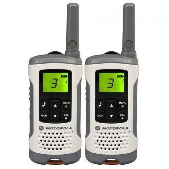 Motorola วิทยุสื่อสาร วิทยุรับส่ง วอคกี้ทอคกี้ รุ่น TLKR T50 แพคคู่ (ขาว)