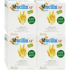 ราคา Mucilin Sf Sugar Free 10 ซอง 4กล่อง มิวซิลิน ไฟเบอร์ธรรมชาติ ใน กรุงเทพมหานคร