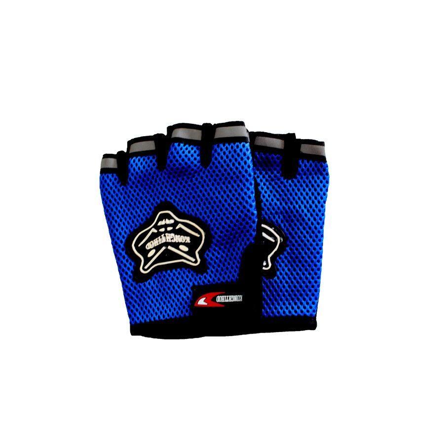 ราคา Telecorsa Konghtihod ถุงมือขับมอเตอร์ไซค์ข้อสั้น สีน้ำเงิน เป็นต้นฉบับ