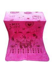 ทบทวน Nampet Shop ผ้าเช็ดตัวนาโนลายการ์ตูน ขนาด 90 X 150 Cm สีชมพู