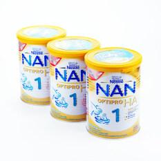 ซื้อ Nan Optipro Ha1 แนนเอชเอ1 400 กรัม X 3 กระป๋อง Nan ออนไลน์