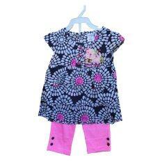 ซื้อ N N Kids N001 ชุดเด็กเสื้อ กางเกงขาสั้นลาย Lovely Kitten สีชมพู ใหม่