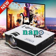 ขาย Nanotech Unic Uc40 Mini Pico Portable 3D Led Projector Hdmi Home Theater Beamer Multimedia Proyector Full Hd 1080P Video Projector ใหม่