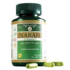 โปรโมชั่น Narah นราห์ 120 แคปซูล ลดน้ำตาล ปรับสมดุลภายในตับ ลดความดันโลหิต 1 กระปุก ใน ไทย