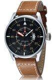 ราคา Naviforce นาฬิกาข้อมือผู้ชาย สไตล์ Army เรือนเงิน สายหนัง สีดำ น้ำตาล ใหม่