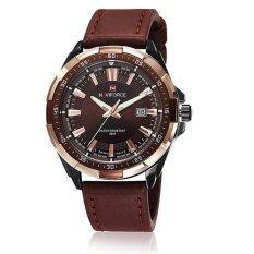 ขาย Naviforce นาฬิกาข้อมือผู้ชาย สีน้ำตาล สายหนัง รุ่น Nf9056 Br2 ออนไลน์ นนทบุรี
