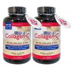Neocell Super Collagen+C 6000mg 2 กระปุก (250 เม็ด/กระปุก)