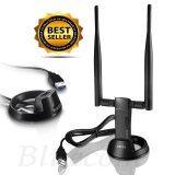 ซื้อ Netis Usb Wireless Adapter Netis Wf2122 300Mbps ตัวรับสัญญาณ Wifi Black Netis ออนไลน์