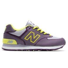 New Balance Indigo Limeade 574 Women S Shoes Wl574Eil Size 7Us 37 5 24Cm เป็นต้นฉบับ