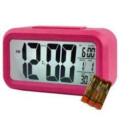 ราคา New Mumbaby นาฬิกาปลุก ถ่าน สีชมพู เป็นต้นฉบับ