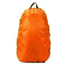 ใหม่กันน้ำฝุ่นที่บังฝนกระเป๋าเป้เดินป่ากระเป๋าสะพายหลังตั้งแคมป์ 5 ขนาดสีส้ม 45l By Iska Global Trading Limited.