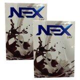 ขาย Nex Day Chocolate เน็กซ์เดย์ Ex Day สูตรใหม่ ลดน้ำหนัก บรรจุ 10 ซอง 2 กล่อง ใหม่