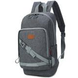 ทบทวน Nifty Well กระเป๋าแท็บเล็ต โทรศัพท์ กระเป๋าเป้ใบเล็ก กระเป๋าสะพายหลัง Shoulder Bag กระเป๋าใส่พาสปอร์ต สีเทาเข้ม