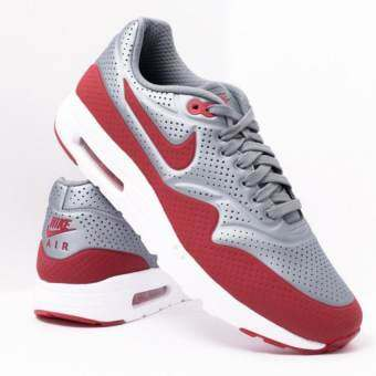 the latest c6b9e dc5e9 Nike รองเท้า AIR MAX 1 ULTRA MOIRE Metallic Cool Grey Gym Red-White -