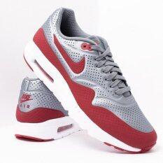 ขาย Nike รองเท้า Air Max 1 Ultra Moire Metallic Cool Grey Gym Red White 11 Us ใน ไทย