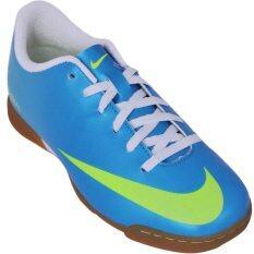 ทบทวน Nike รองเท้า Futsal รองเท้าฟุตบอล รุ่น Mercurial Vortex Ic ฟ้า