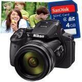 ราคา Nikon Coolpix P900 Sd Card 4 Gb มูลค่า190บาท คูปองขยายภาพขนาด 20 X24 1ใบ มูลค่า400บาท ที่สุด