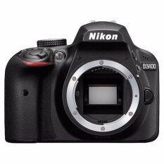 ทบทวน ที่สุด Nikon D3400 Lens Af P 18 55Mm F3 5 5 6G Vr ฟรี Sd32Gbc10 กระเป๋ากล้อง ฟิล์มกันรอย