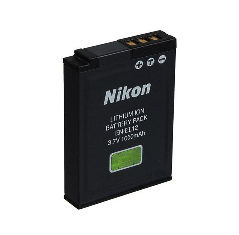 Nikon rechargeable battery EN-EL12 (Black)