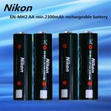 ซื้อ Nikon ถ่านชาร์จ En Mh2 Aa 1 2V Min 2300Mah Rechargeable Ni Mh Battery 4 ก้อน ใน กรุงเทพมหานคร