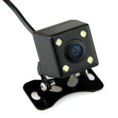 Niky  กล้องมองหลัง กันน้ำ 4LED 170องศา รุ่น E314 - Black