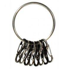ขาย Nite Ize Big Ring Stainless Blk พวงกุญแจแบบห่วง สีเงิน ใหม่