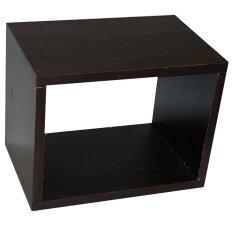 ซื้อ Nk Furniline กล่องไม้ ชั้นไม้ตกแต่ง รุ่น Boxcondo 30X23 ไม้pbfoil สีโอ๊ค ออนไลน์