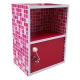 ราคา Nk Furniline ตู้ล็อคเกอร์ ตู้ข้างเตียง2ชั้น รุ่น Box2 1Dk ลายโมเสคชมพู Nk Furniline ใหม่